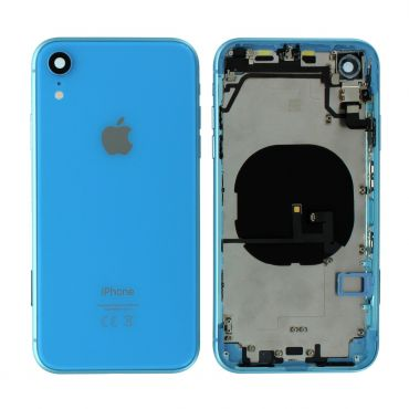 Apple iPhone XR Rear Housing With Components - Blue