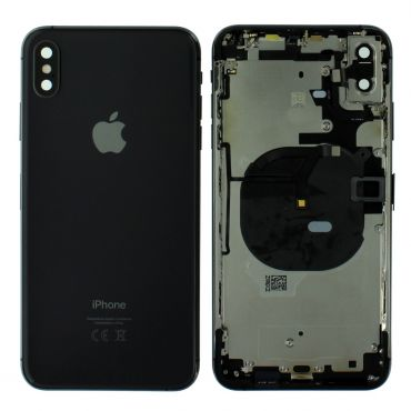 Apple iPhone XS Max Rear Housing With Components - Space Grey