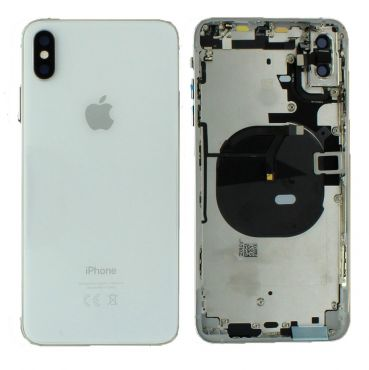 Apple iPhone XS Max Rear Housing With Components - Silver